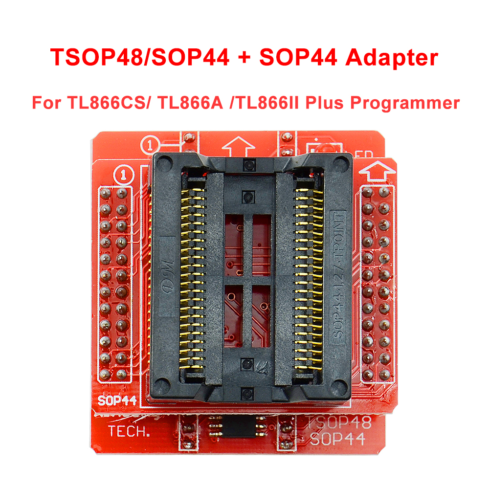 Free Shipping SOP44+TSOP48/SOP44 V3 Board For TL866CS / TL866A/ TL866II Plus Universal Programmer Usb Only 100% Original