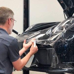 Image 3 - PPF SUNICE מכונית סרט הגנת צבע גוף רכב מבריק Invisible בד מגן סרט 100% שקיפות TPU אנטי צהוב חומר