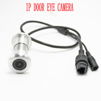 1080p IP door eye cctv camera Mini ip Peephole surveillance camera Night vision 940 lamp TF card slot