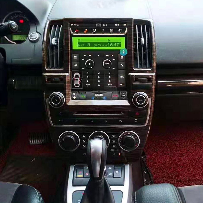 Chogath Car Multimedia Player Android 7.1 Car Gps Navigation 10.4inch 2+32G Tesla Screen For Land Rover Freelander 2 2007-2015