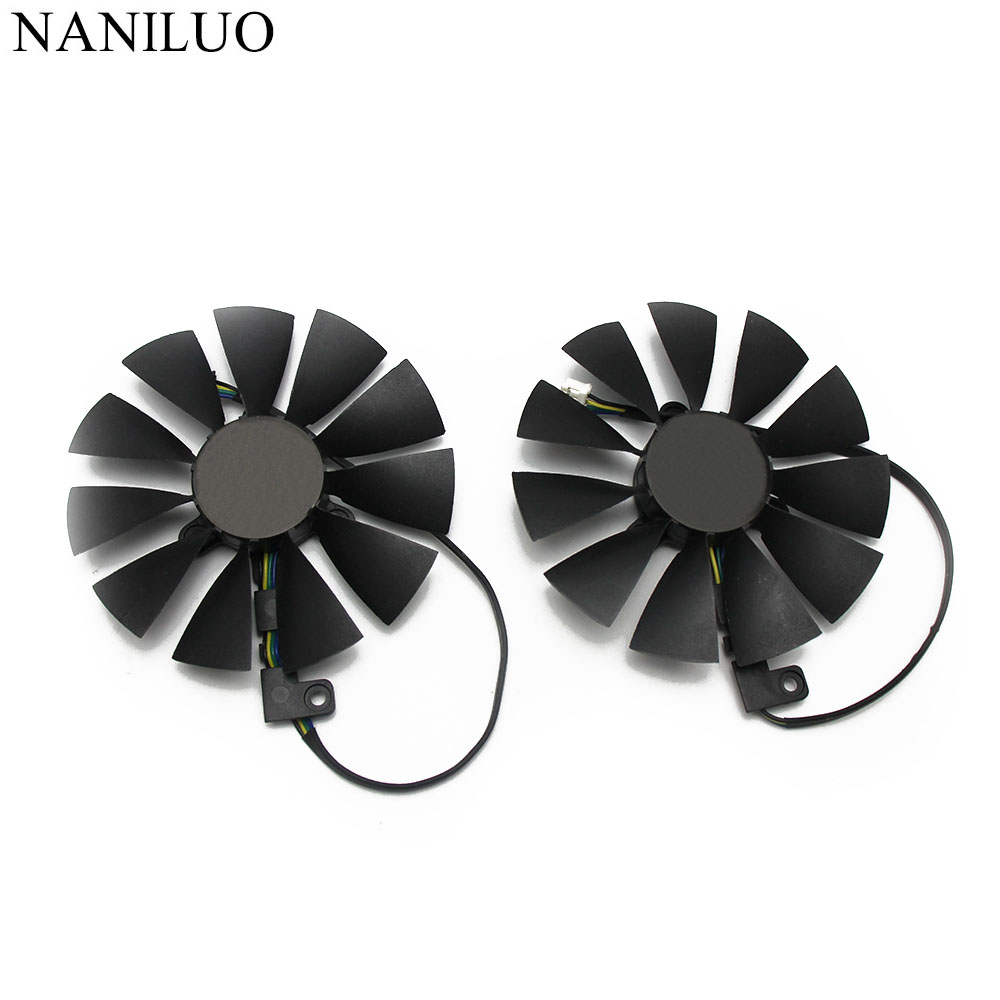 87mm FDC10U12S9-C 4Pin RTX2080 GPU Card Cooler Fans For ASUS GeForce RTX 2080  GAMING Card Fan