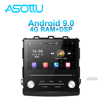 Asottu android 9.0 PX6 car dvd for Subaru XV Forester 2018 2019 GPS Navigation Multimedia car stereo car radio video player