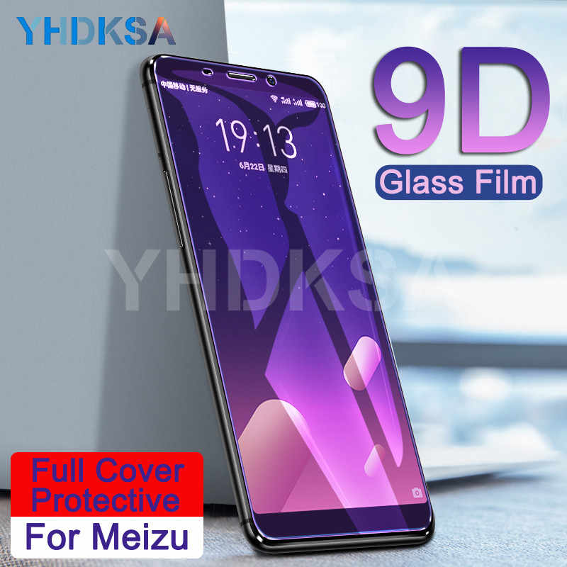 9D Protective Glass on the For Meizu M6 M5 M3 Note M6S M6T M5S M5C M3S M8 Pro 7 Plus Screen Protector Tempered Glass Film Case