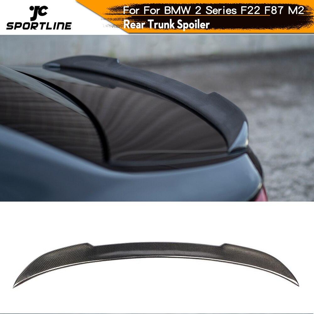 Carbon Fiber Rear Trunk Spoiler for BMW 2 Series F22 F23 M2 F87 Boot Lip 2014