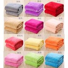 Manta de lana de felpa para niños, manta pequeña y muy cálidas, de microtiro, sólida, para sofá, cama, para oficina, Gato casero, manta para perro