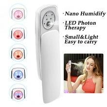 Наноувлажнитель портативный светодиодный фотонный терапевтический