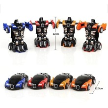 Transformation Robot Toy Car Anime Action Figure Toys ABS Plastic Collision Transforming Model Gift for Children 1 43 anime figure toys transformation alloy car models robot action toy action figure kids education toys gifts for children