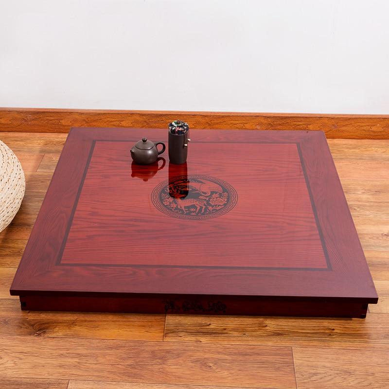 Квадратна 80X80см Корейска подова маса - Мебели - Снимка 3