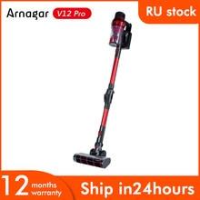 Original Arnagar V12 Pro Robot Vacuum Cleaner Home Appliance Wireless Handheld Vacuum Cleaner For Home Car Dust Collector