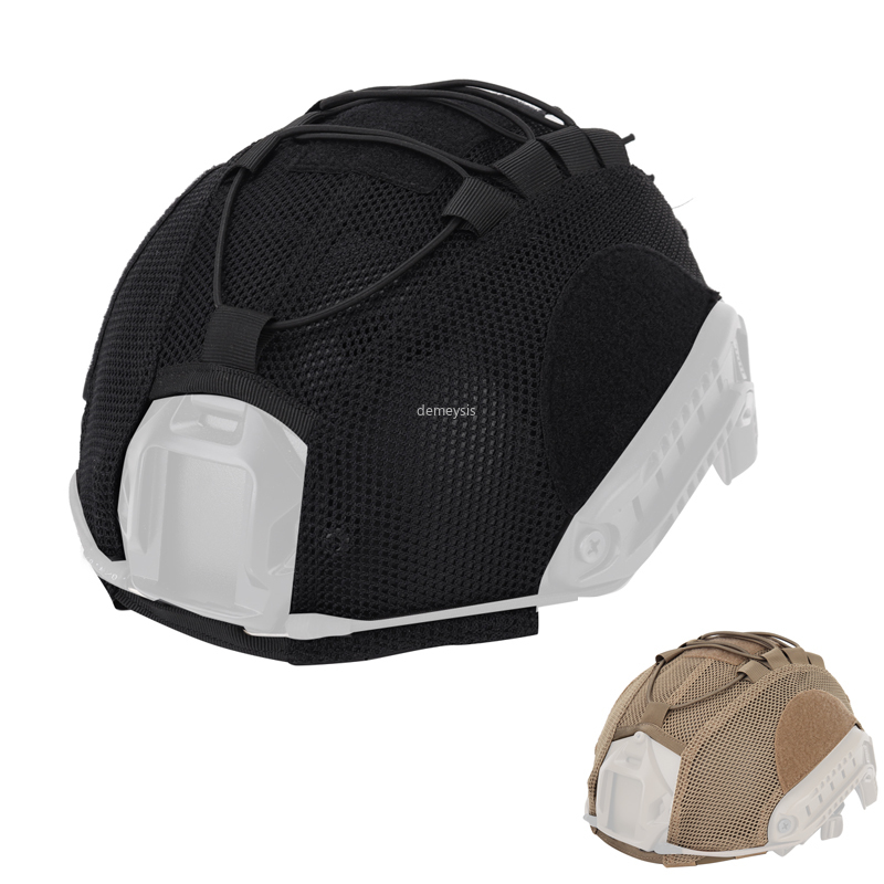 Airsoft Paintball Helmet Cover Hunting Military Combat CS Wargame Helmet Cover For Ops-Core PJ BJ MH Type Fast Helmet