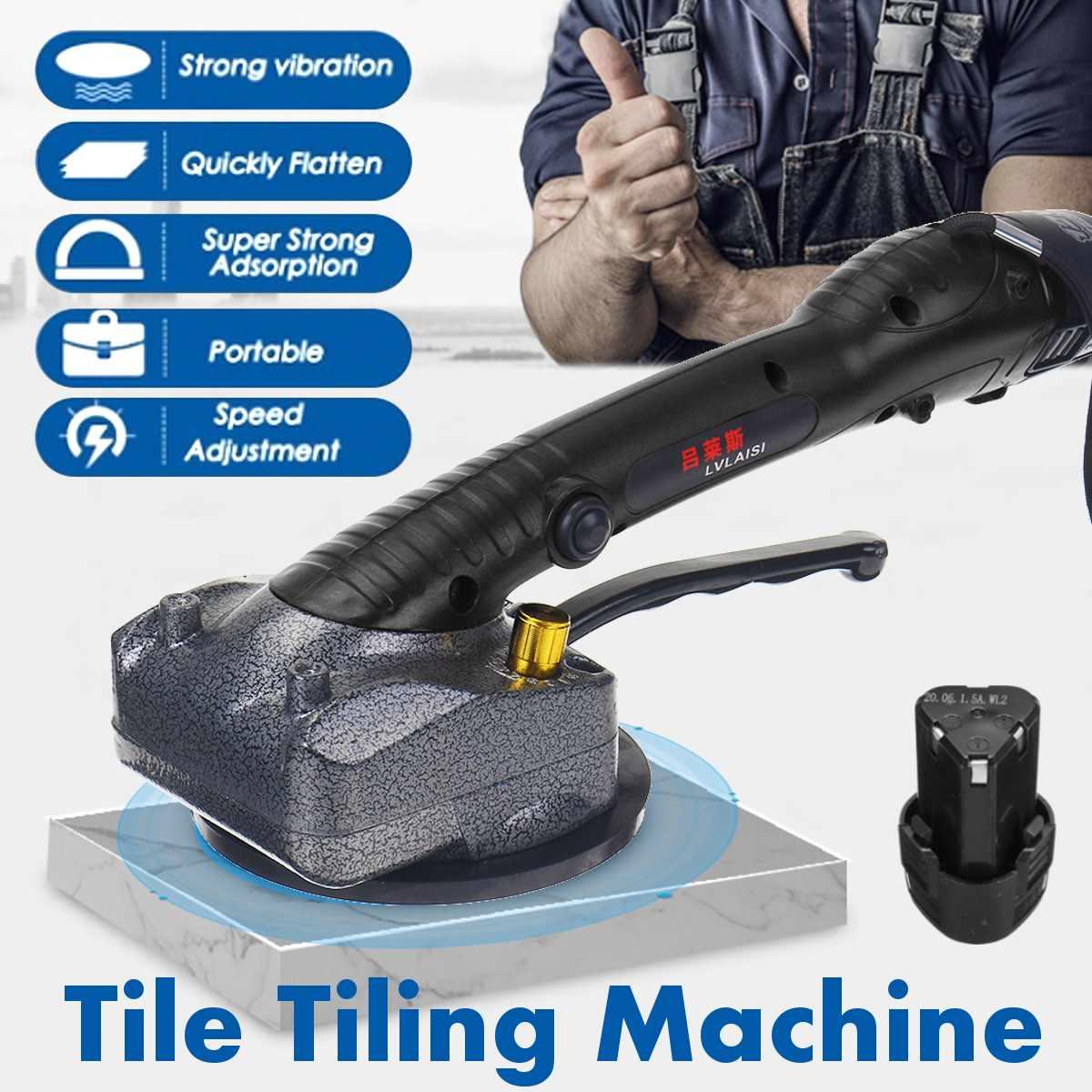 1000W Portable Tile Vibrator For 80x80cm tiles Floor Plaster Machine Tile Laying Automatic Floor Vibrator Leveling Tool