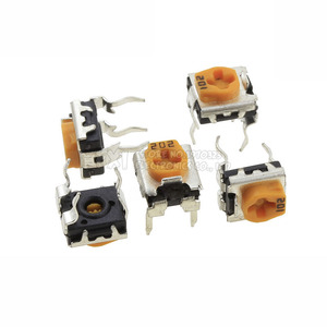 20 шт. WH06-2C 100 200 500 1 к 2 к 5 к 10 к 20 к 50 к 100 к 200 к 500 к 1 м ом Триммер Потенциометр переменные резисторы WH06