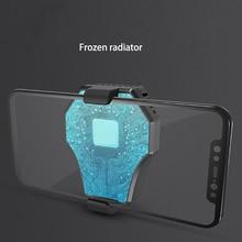 Мобильный кулер для телефона охлаждающий игровой веер подставка держатель кронштейн вентилятор Радиатор для IPhone huawei Xiaomi смартфон планшет зарядка через usb