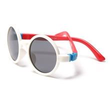 Kids Sunglasses Baby Shades Children Uv400-Eyewear Round Polarized Fashion Frame Girls