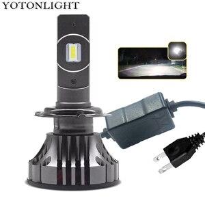 Image 1 - YOTONGLIGHT H7 لمبة Led سيارة العلوي Lampada H4 Led مصباح 120W 16000lm الصمام H1 H11 9005 Hb3 9006 Hb4 H8 H9 H10 H16 CSP 12v 6000K