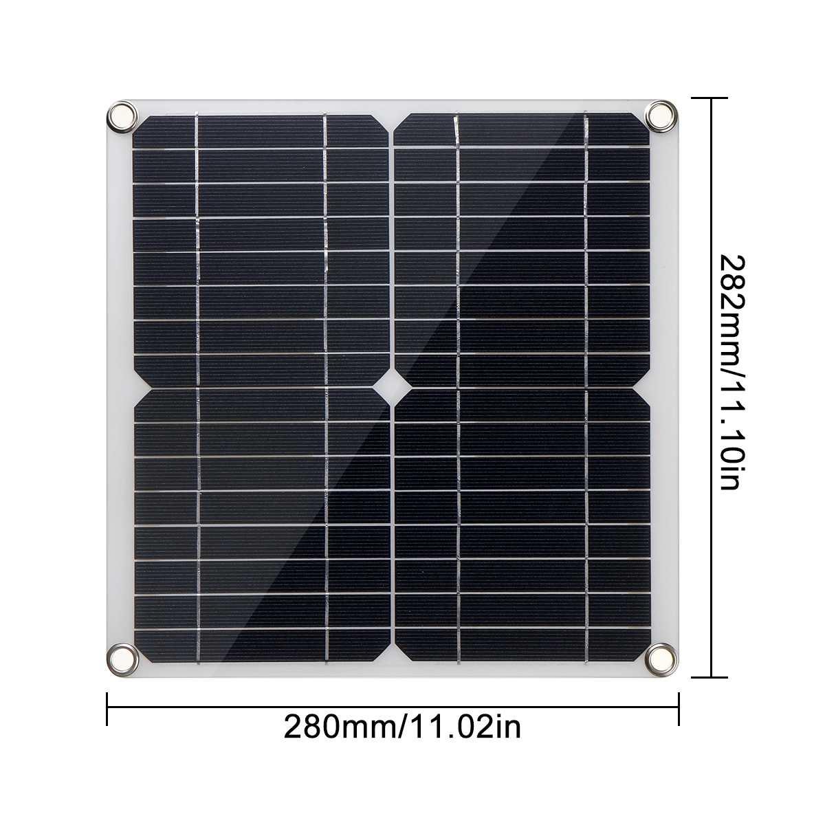 controlador sistema solar para caminhadas acampamento carro casa