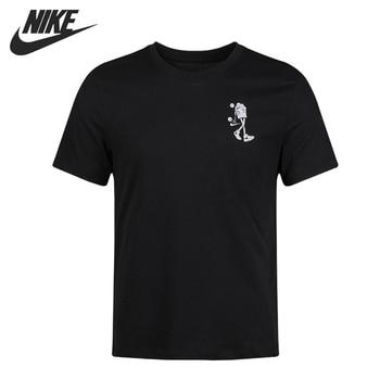 Original New Arrival  NIKE M NK DRY TEE BUCKETS Men's T-shirts short sleeve Sportswear original new arrival 2018 nike s m nsw av15 crw flc men s pullover jerseys sportswear