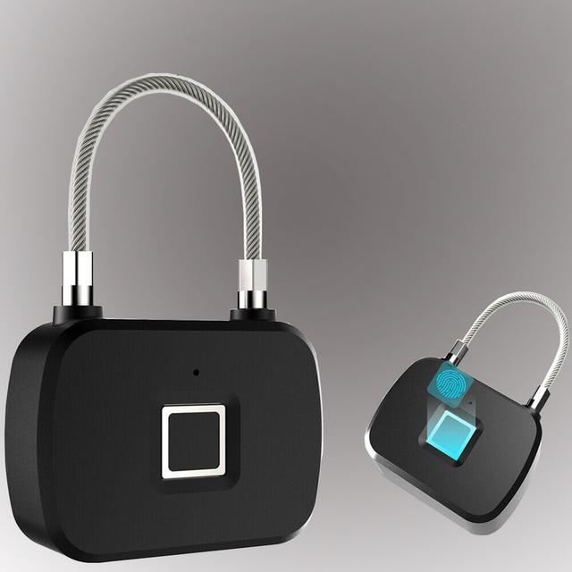 Serrure biométrique intelligente Anti vol