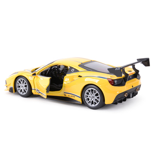 Image 4 - Bburago 1:24 Ferrari 488 ChallengeกีฬารถSTATIC Die Castรถสะสมรถของเล่น