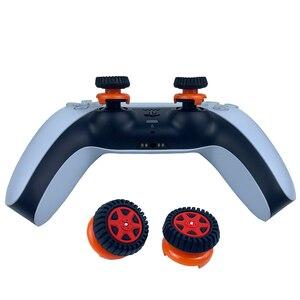 Image 3 - PS5 عصا التحكم السيطرة فبس فريك الإبهام قبضة المقود قبعات ل PS5 تحكم المقود غطاء الإطارات مصممة قبعات ل PS5/ PS4