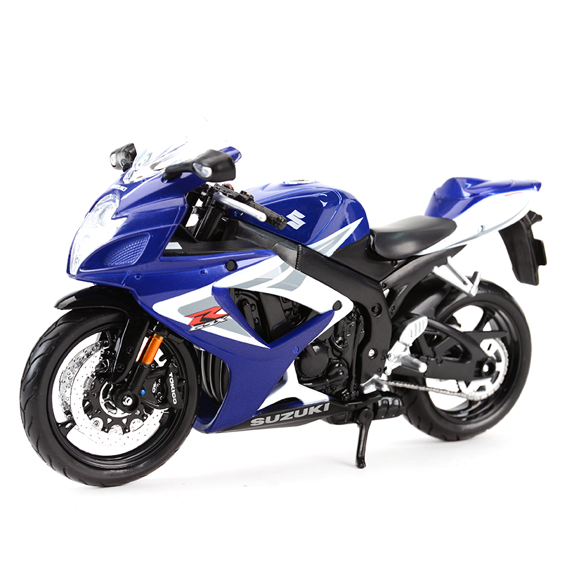 Maisto 1:12 Suzuki GSX-R750 Diecast Alloy Motorcycle Model Toy