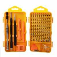 Conjunto de chave de fenda de precisão de 110 peças, relógio, telefone celular, desmontagem e ferramenta de manutenção, conjunto de combinação multi-funcional