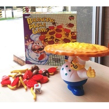 Fly AC Toy - Pizza Balance Game Funny Family Party Game for Ages 3 and Up
