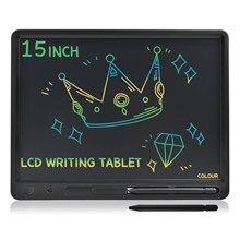 15 Polegada tela grande tamanho grande lcd escrita tablet aprendizagem almofada educação placa de memorando adultos negócios notebook crianças desenho brinquedos