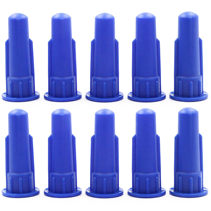 Cylindrical Cone For Cartridge Caulking Spare Part Nozzle Spray Tip For Silicon Sealant Dispenser Syringe Accessory 10Pcs