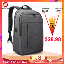 Tigernu Laptop Backpack School-Bag Travel 17inch Female Anti-Thief Women for Mochila