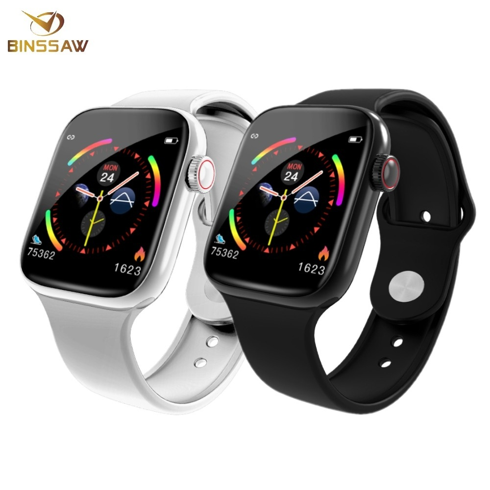 BINSSAW New Smart Watch Men Women 44mm 1.54 inch ECG Heart Rate Monitor Sport Activity Tracker Sport Smart watch for Android IOS image