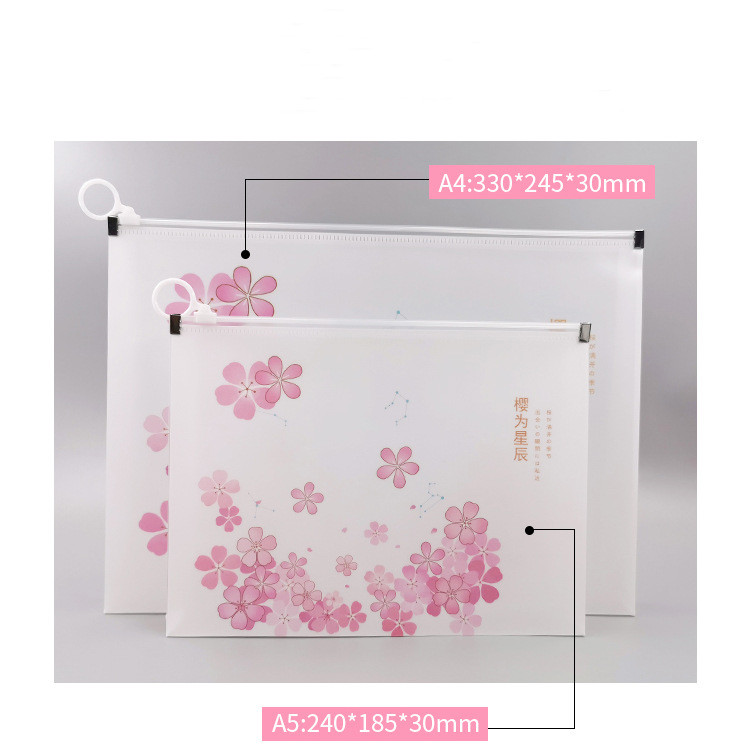 A4 A5 Durable Waterproof Book A4 Paper Folder New Design Document Rectangular Office Document Customized Product