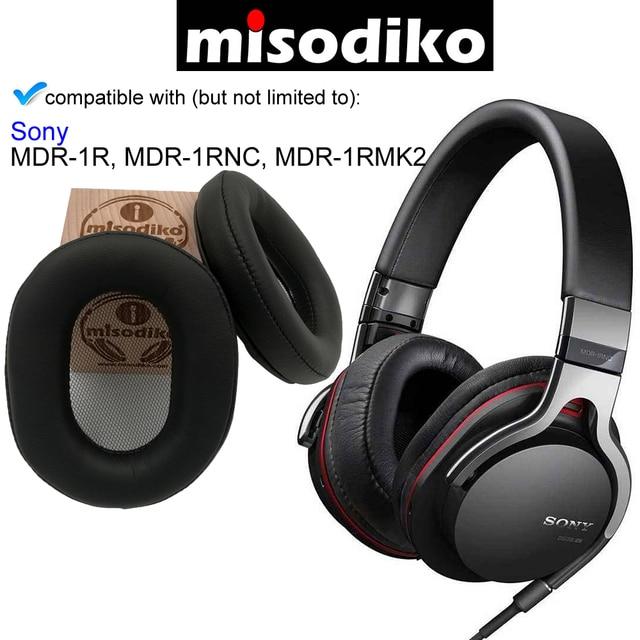 Kit Kit de Substituição Ear Pads Almofada para Sony MDR 1R misodiko, MDR 1RBT, MDR 1RNC, MDR 1RMK2, peças de Reparo de fones de ouvido Earpads