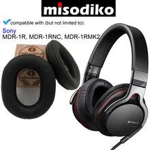 Misodiko 交換キット ソニー MDR 1R 、 MDR 1RBT 、 MDR 1RNC 、 MDR 1RMK2 、ヘッドフォン修理部品イヤーパッド
