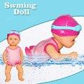 水楽しい水泳プール防水電気人形自動水泳最高のギフト玩具子供 juguetes brinquedos 子供たちのおもちゃ