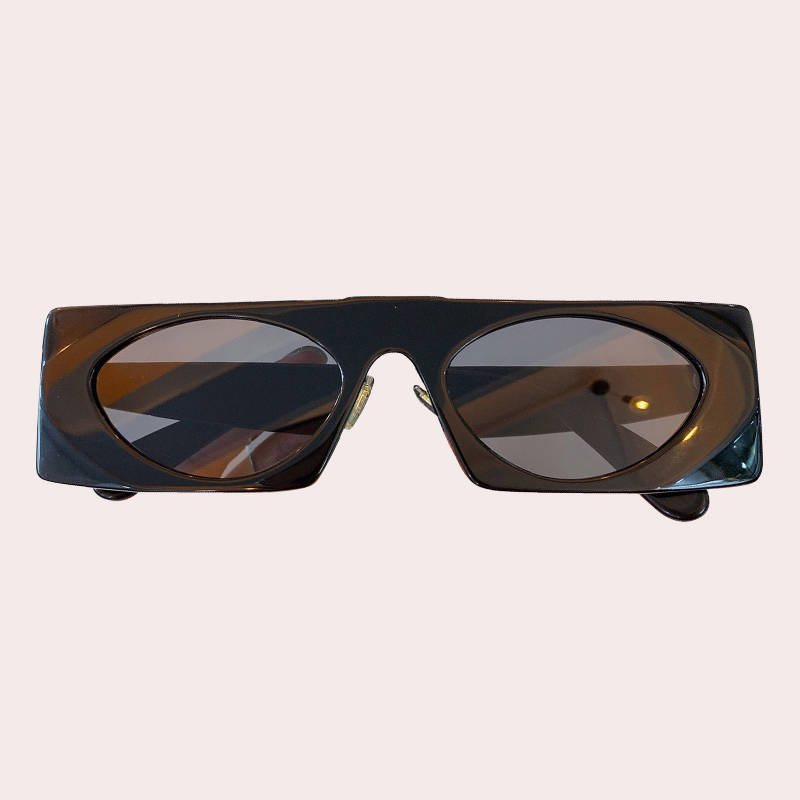 Rectangle Sunglasses Women Acetate Frame Vintage Designer Sunglasses Female Shades UV400
