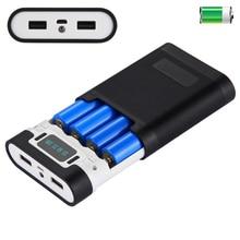 Dual USB 18650 Power Bank Case Battery B
