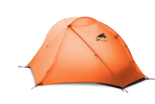 3F UL GEAR Floating Cloud 1 Camping Tent Person 3-4 Season 15D Outdoor Ultralight Hiking Backpacking Hunting Waterproof Tents