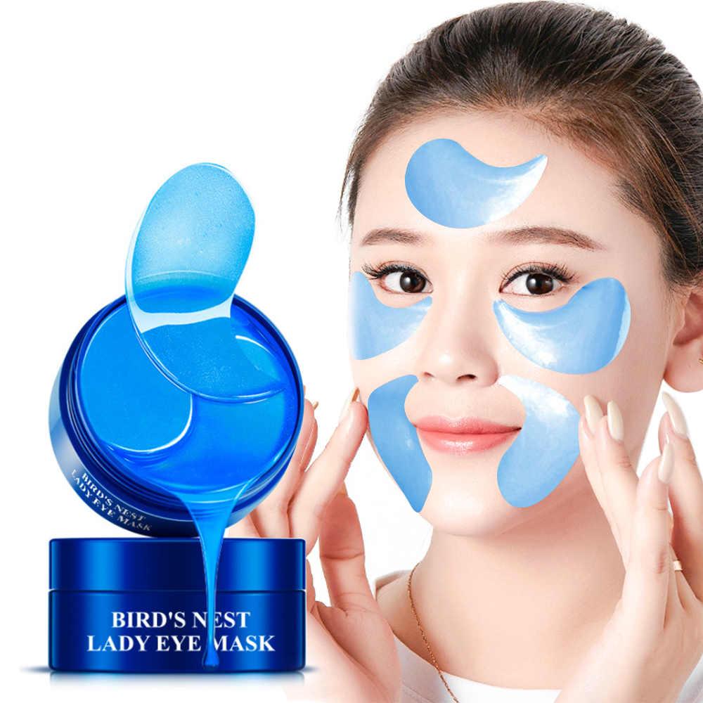 60 Pcs Mata Patch Kristal Medis Masker Mata Anti Kerut Kolagen Perawatan Mata Lingkaran Hitam Menghapus Kulit Anti Penuaan perawatan untuk Tidur