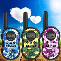 1PairX dziecko dla dzieci Walkie Talkie rodzicielstwo gry telefon komórkowy telefon rozmowa zabawka 3 5KM zakres dla dzieci sport na świeżym powietrzu zabawki w Zabawkowe walkie-talkie od Zabawki i hobby na