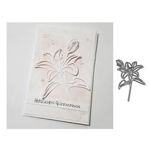 Metal Cutting Dies Beautiful Flowers Cut die for Scrapbooking Craft DIY Album Embossing Folder Stencils Handmade Template Decor