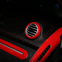 Car interior air conditioner air outlet decorative cover interior sticker suitable for smart fortwo451 modification accessories