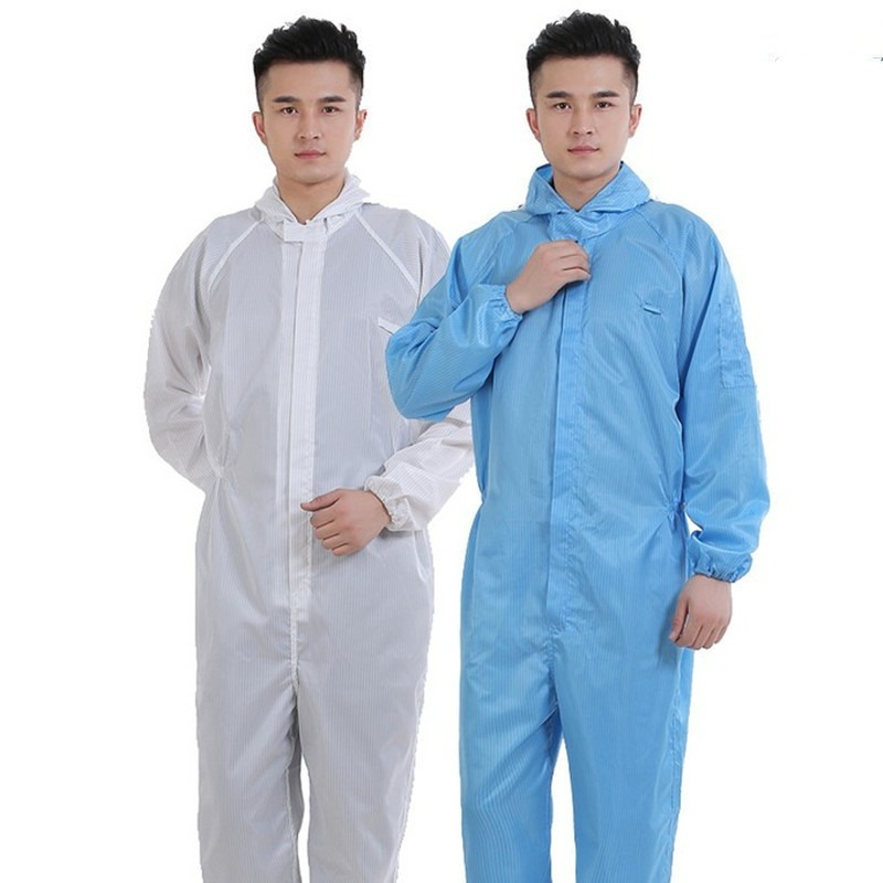 Reusable Protective Overalls Suit Oil-Resistant Safety Dustproof Isolation Gown Protective Overall Coverall Suit Safety Clothing