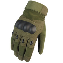Army Military Tactical Motorcycle Gloves Men Winter Full Finger Hard Knuckle Paintball Airsoft Shoot Combat Anti-Skid