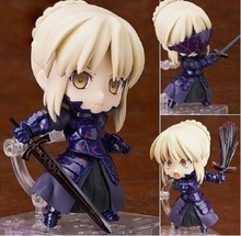 Japan Anime Action figure Fate/stay Night Grand Order ALTER saber fighting 363# Q ver PVC 10cm collection cute figure kids doll
