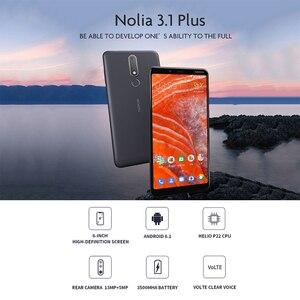 Image 3 - Nokia 3.1 Chính Hãng Plus 4G 6.0 Android 8.1 MTK 6762 Octa Core 3 + 32GB ROM 13.0MP + 5.0MP Phía Sau Máy Ảnh Điện Thoại Di Động