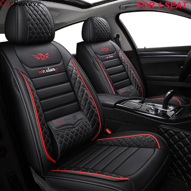 1 PCS Leather Car Seat Cover For Honda Freed Stream Accord 2018 Crv Civic 2006 2011 City 2010 Fit Accessories Seat Covers
