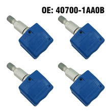 4pcs 315MHZ Car Tire Pressure Sensor Monitor For Nissan Frontier Murano Pathfinder Xterra 2003 2004(China)