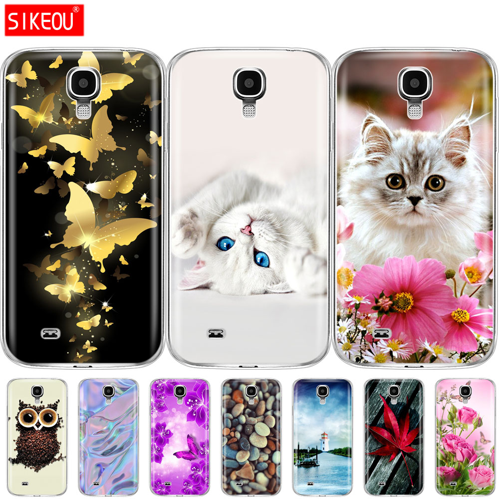 silicone Case For Samsung Galaxy S4 i9500 Case coqa Cover For Samsung S 4 cover funda mobile phone bag TPU shell image