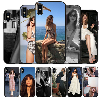 Dakota Johnson Soft Silicone black Phone Case For iPhone 5 5S 6 plus 7 8 plus X XR XS Max 11 PRO Max SE 2020 image